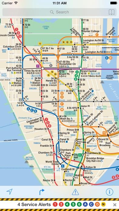 iTrans NYC Subway screenshot1