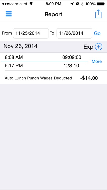 iTimePunch: Work Time Clock for Hourly Employee Timesheet Tracking