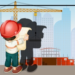 A Construction Site Shadow Game: Learn and Play for Children