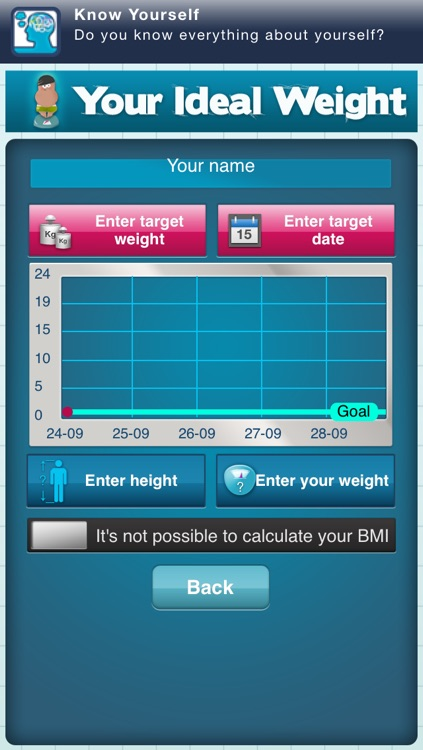 Your Ideal Weight: calculator for your losing diet
