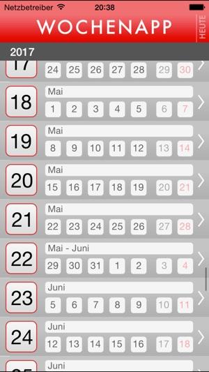 was haben wir für eine kalenderwoche