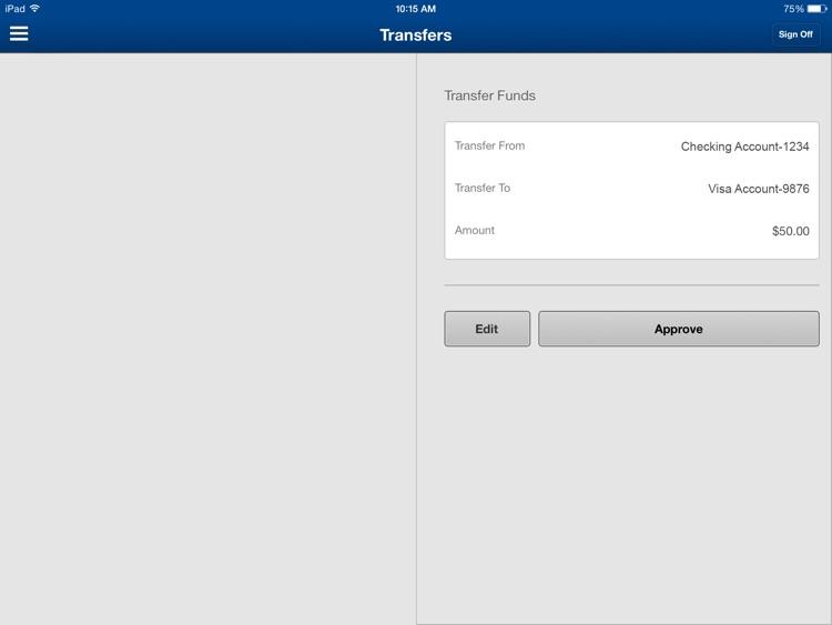 Nevada State Bank Mobile Banking for iPad screenshot-4