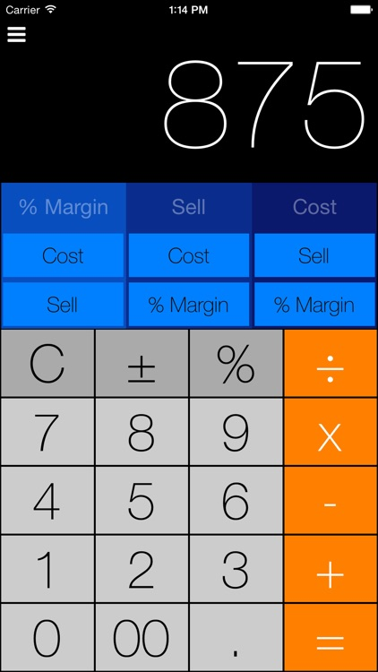 MarginCalc screenshot-1