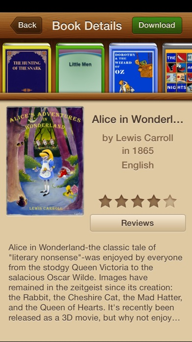 Screenshot for Classicly - 26,416 Books And Audiobooks - The Ultimate Ebooks Library in United States App Store