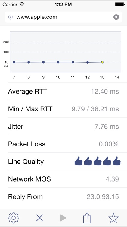 Ping Analyzer - Graphical Network Ping