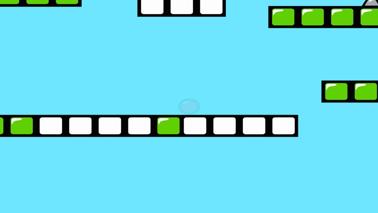 Red Bouncing Ball Spikes Free screenshot-3