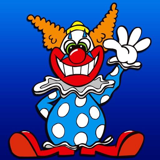 马戏小丑简笔画