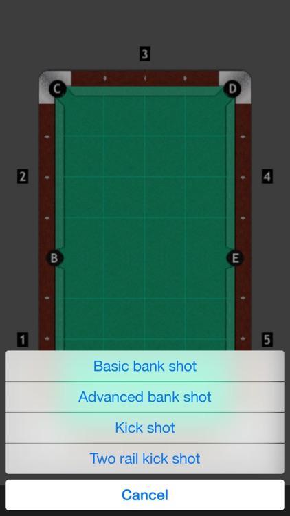 Bank Shot Calculator