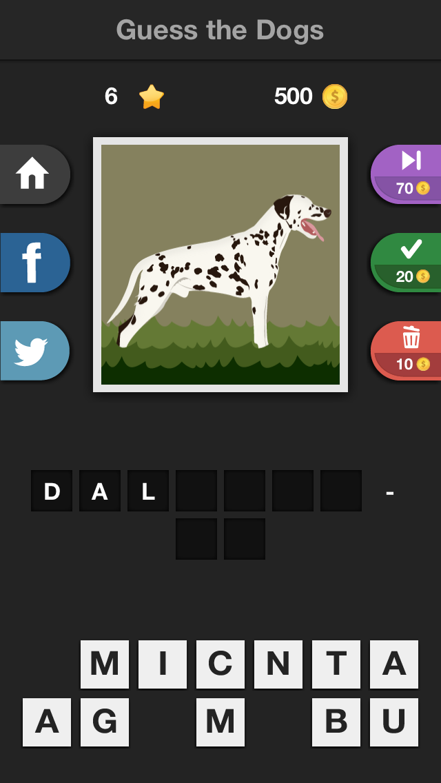 Icontrivia : Guess the Dogs