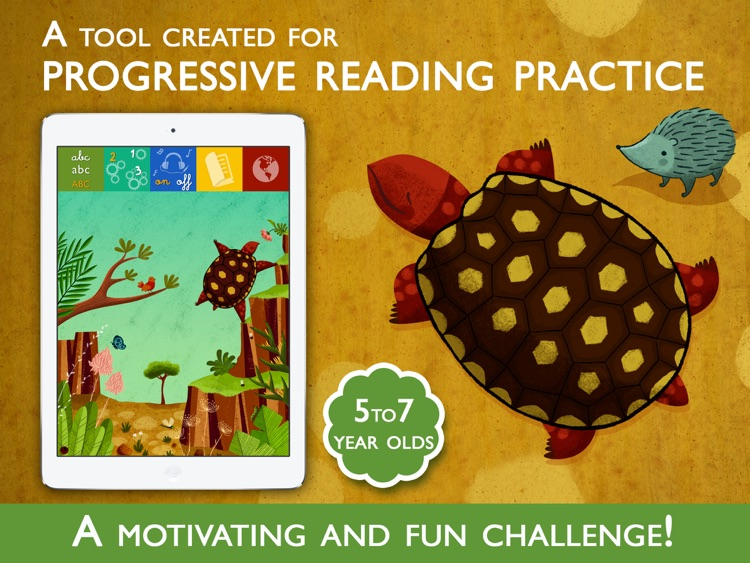 Teach me to read – Headstrong Harry, an Educational Montessori and Constructivist Tool with Activities and Books for Learn to Read. screenshot-0