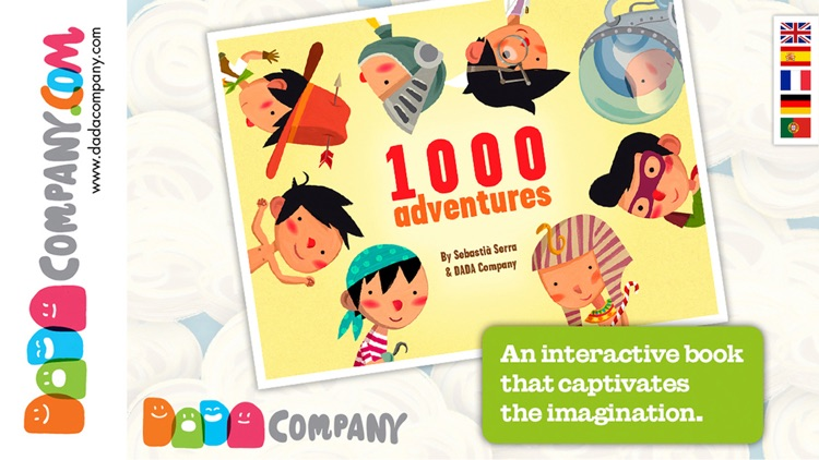 1000 Adventures - An interactive storybook, with animals, robots, dinosaurs, pirates, princesses … screenshot-0