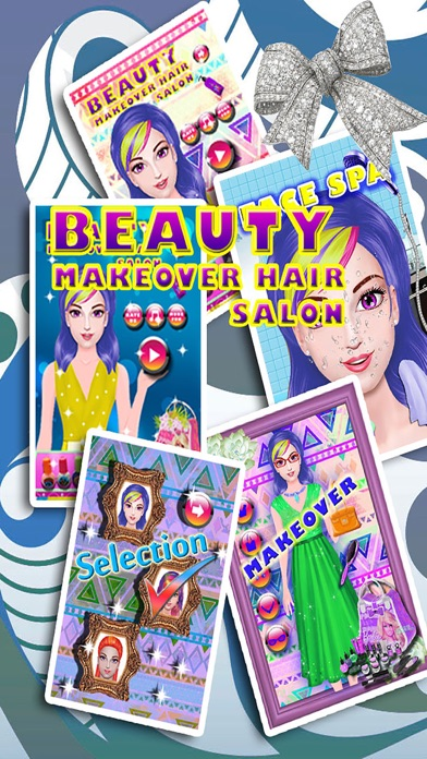 Princess Hair Salon - Beauty Makeover Hairstyles Girls Games screenshot two
