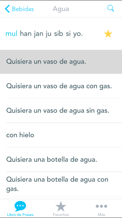 Free Spanish to Korean Phrasebook with Voice: Translate, Speak & Learn Common Travel Phrases & Words by Odyssey Translator screenshot four