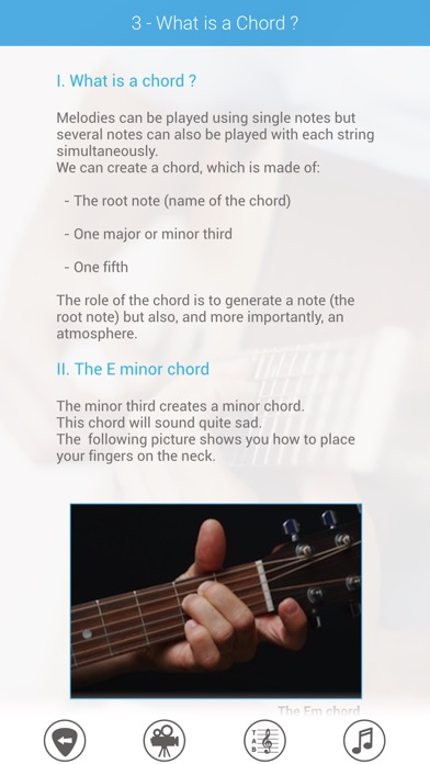 E-Folk: Acoustic Guitar for beginners Screenshot