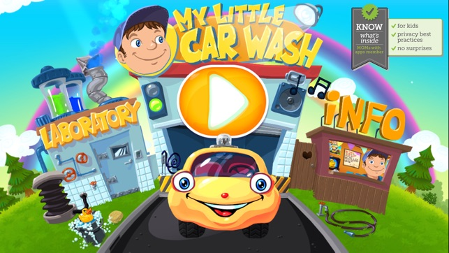 ‎My Little Car Wash - The funny cars washing game for kids