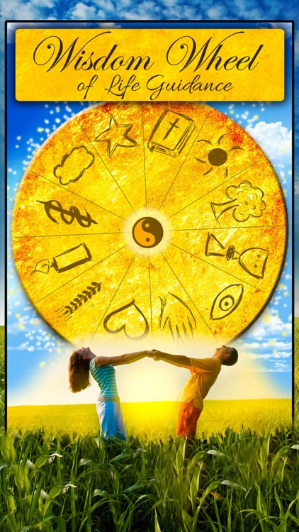 Wisdom Wheel of Life Guidance - Ask the Fortune Telling Cards for Clarity screenshot-0