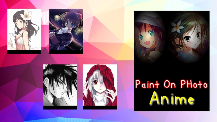 Paint On Photos Anime screenshot-4