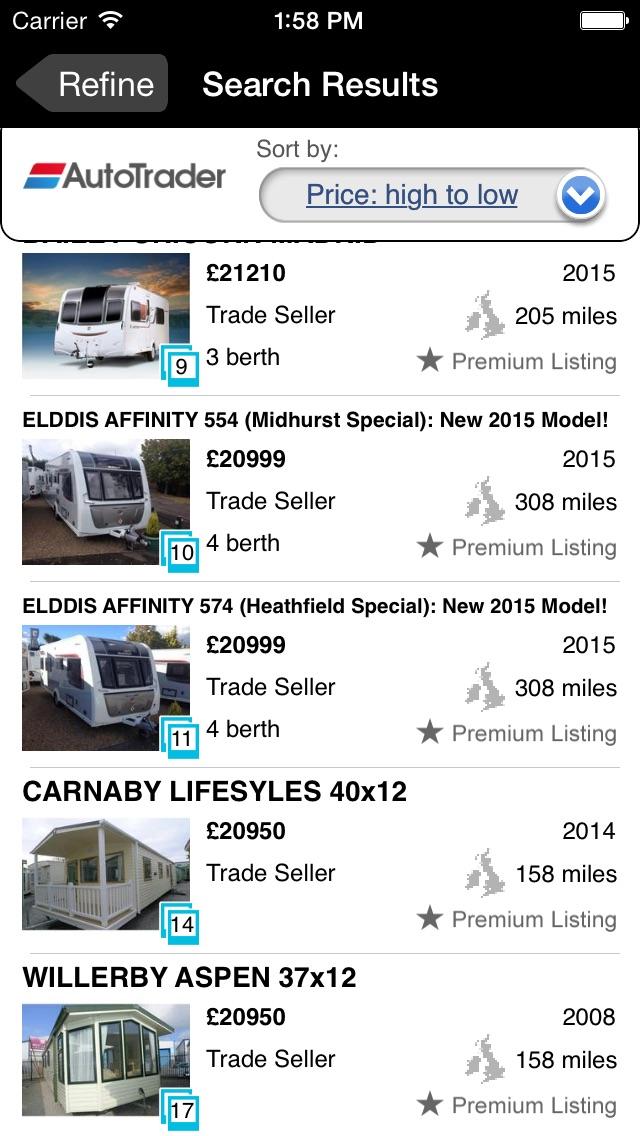 Auto Trader Motorhome & Caravans - App Store revenue & download ...