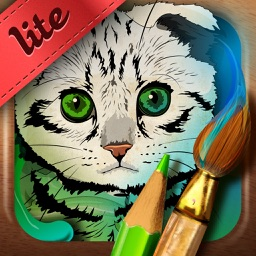 Colour the cat! Lite