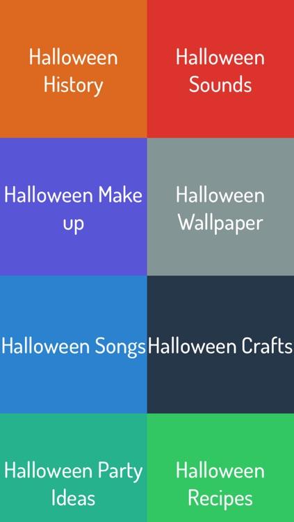 Halloween - Sounds, Wallpaper, Craft