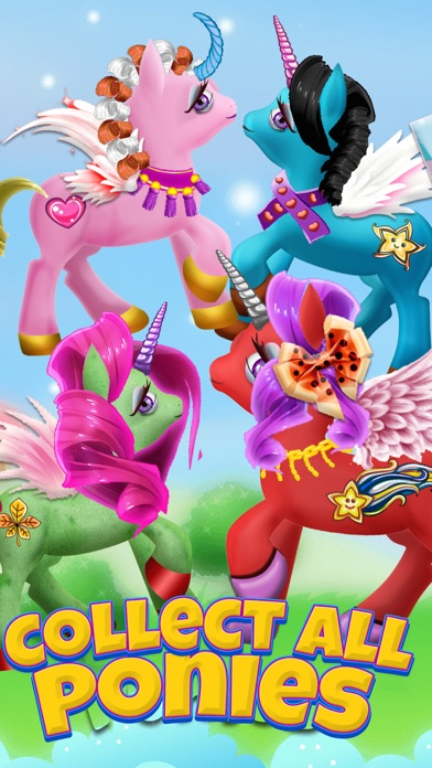 A Cute Pony Dress-Up Salon & Unicorn Fairy Makeover Spa screenshot two
