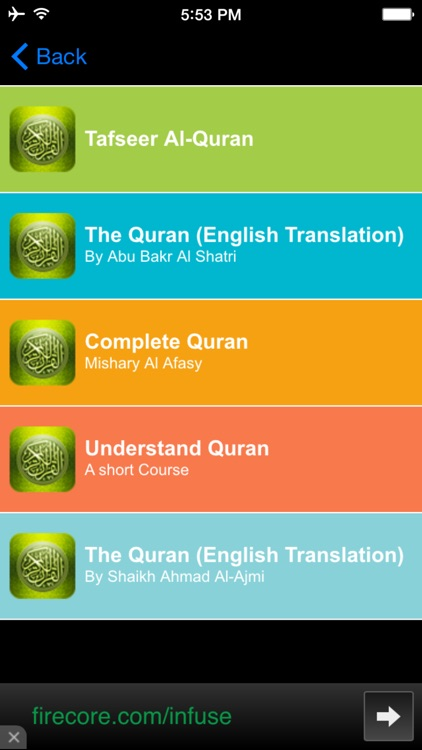 Al Quran Mp3 screenshot-2
