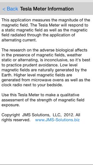 Tesla Field Meter