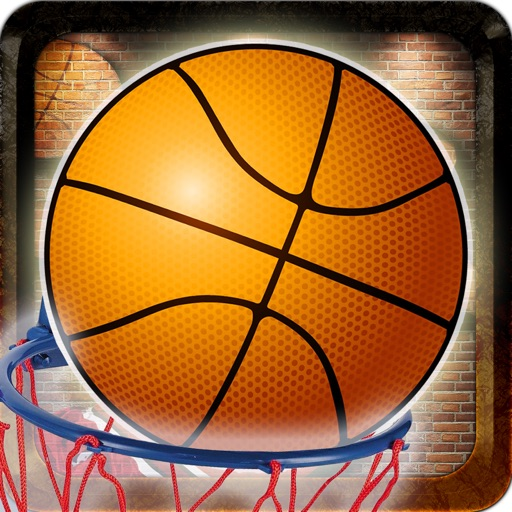 Arcade Real Money Basketball Flick It Hoops - Skills Based Betting and Gambling with SKILLZ icon