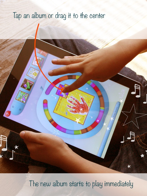 KidZik, music player for kids screenshot-2