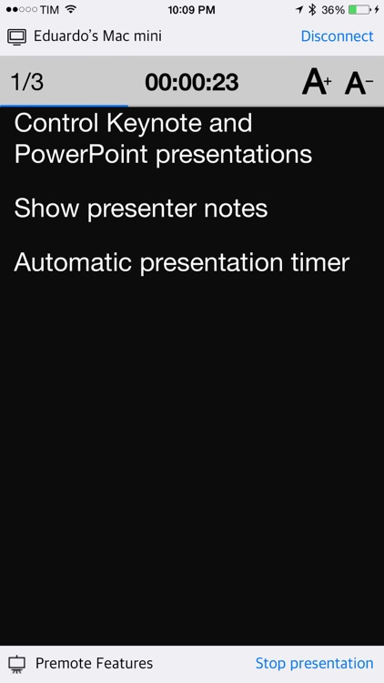 Premote - Remote control Keynote and PowerPoint