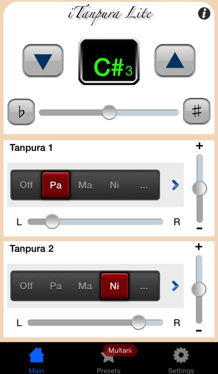 iTanpura Lite - Tanpura Player