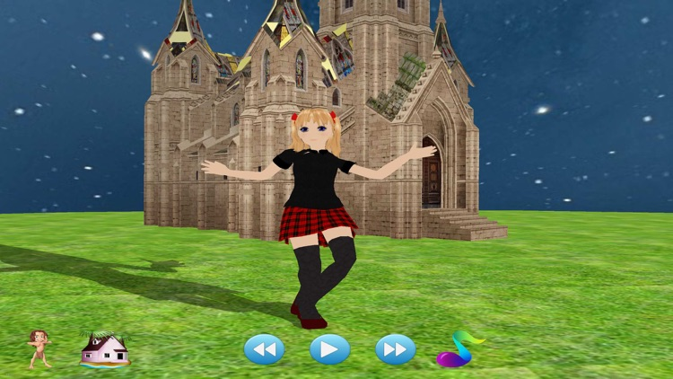 Disco Girl - The best 3d game show of music and dance screenshot-3