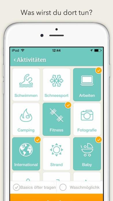 PackPoint ReisebegleiterScreenshot von 2