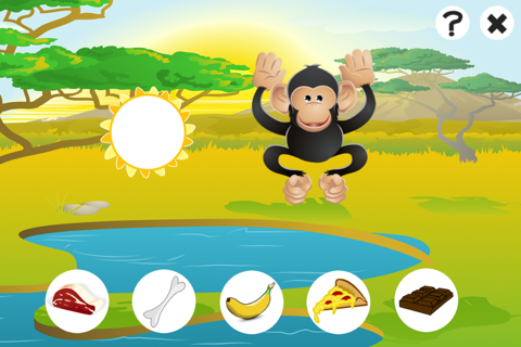 Awesome Feed-ing Happy Wild Animal-s Kid-s Game-s - náhled