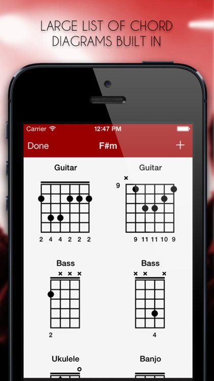 MySongbook - Chord chart binder for performing live gigs on stage and practicing songs on guitar screenshot-3