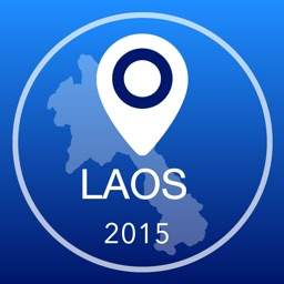 Laos Offline Map + City Guide Navigator, Attractions and Transports
