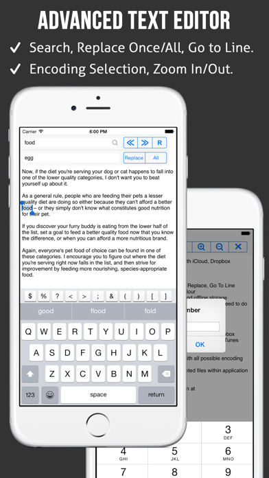 Text Editor review screenshots