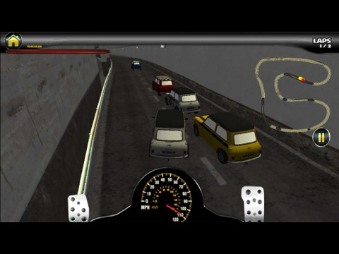 Crazy Mini Car Motor Racing 3D - Road Traffic Taxi Driver