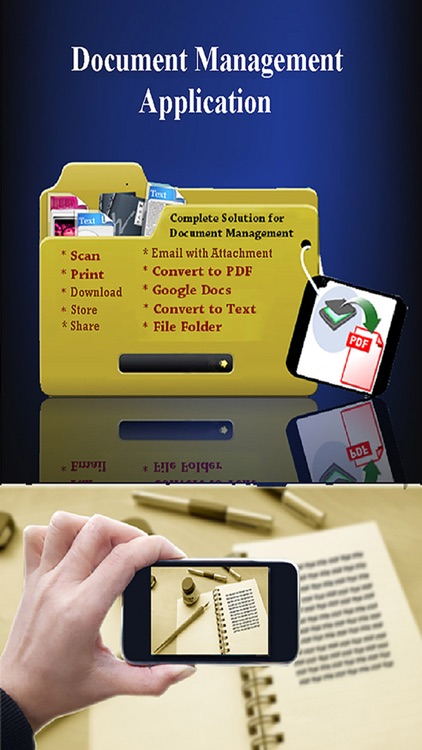 Scanner ( Scan , Print and Share Multi-page PDF Docuemnts) screenshot-2