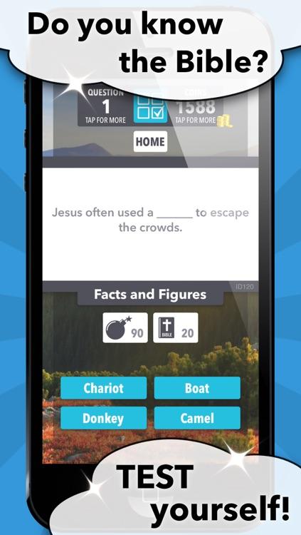 Bible Trivia Mania screenshot-0