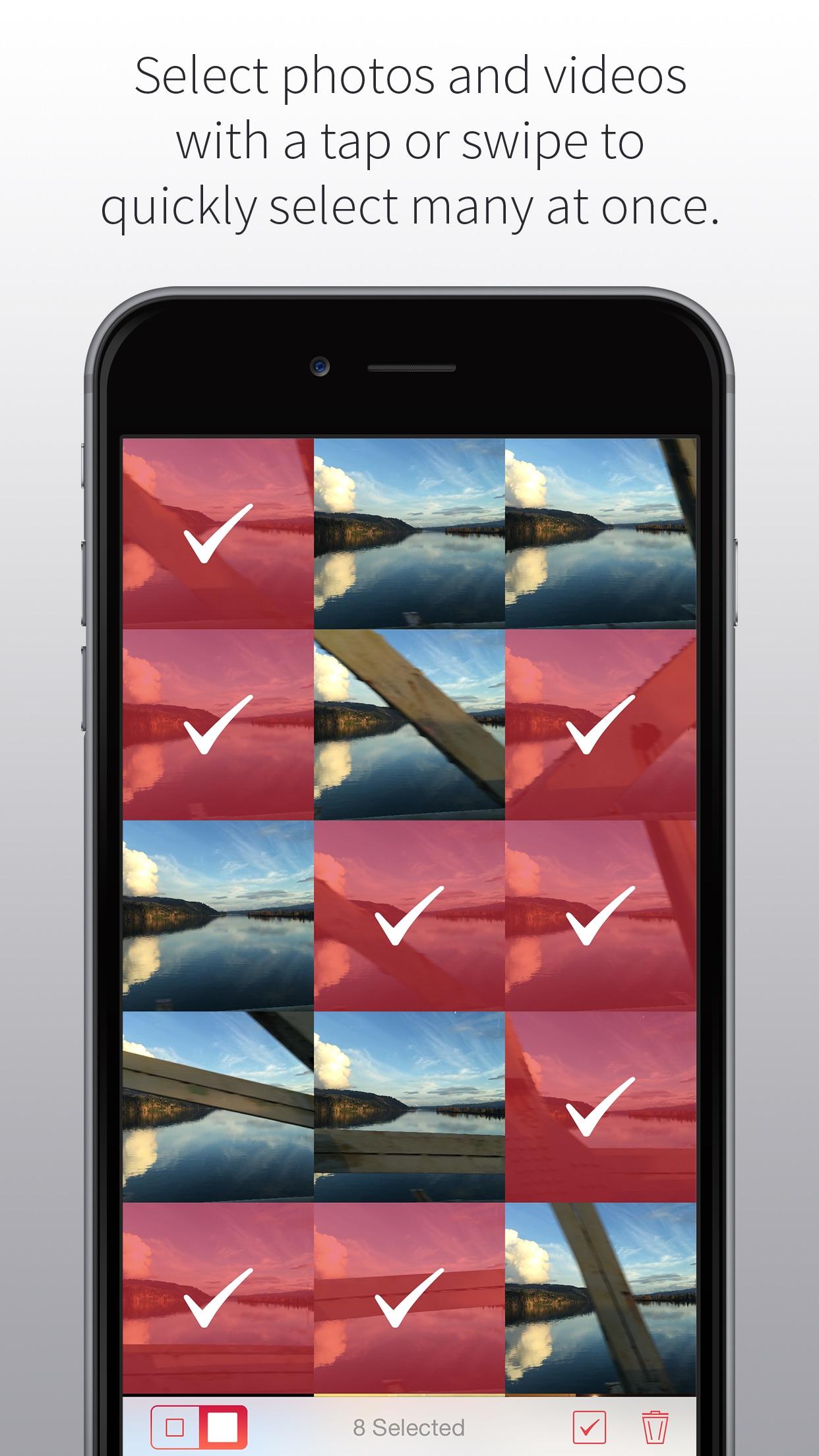 Screenshot do app Bulk Delete - Clean up your camera roll
