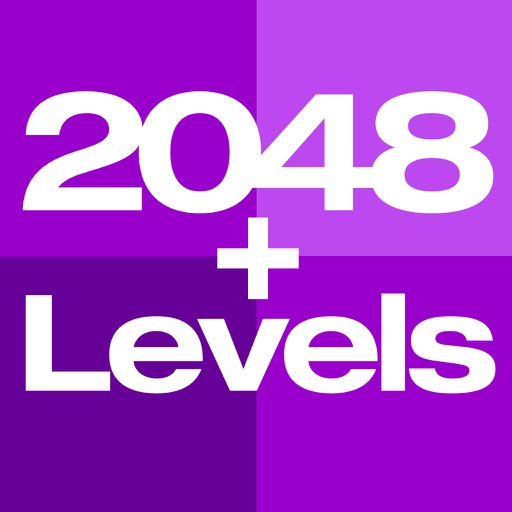 2048+Levels Number Puzzle - Brain Teaser Math Challenge iOS App