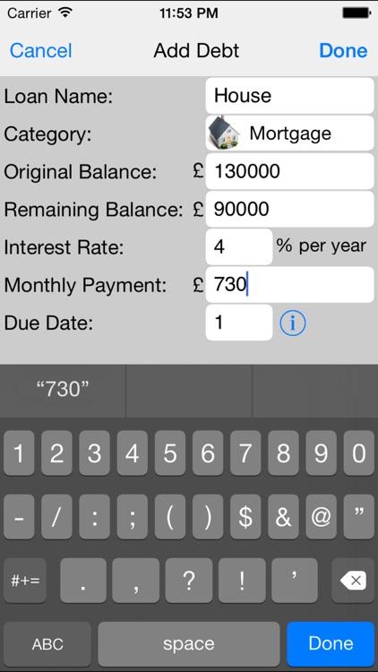 Debt Snowball Pro - Improve Your Budget and Become Debt Free screenshot-4