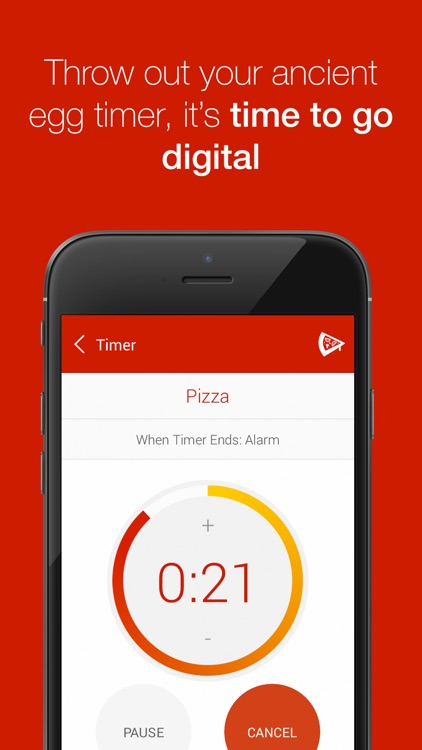 Kitchen Timer - Multiple Timers to Time Your Cooking to Perfection screenshot-0