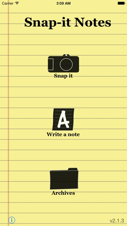 Snap-it Notes