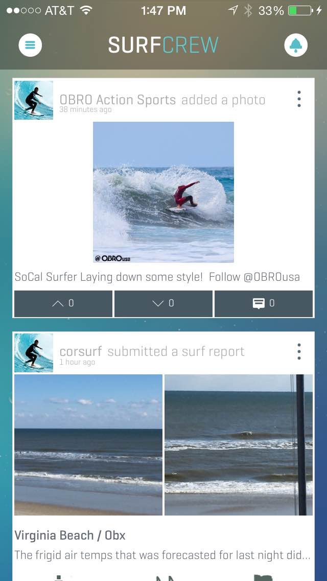 Swell Info Surf Crew screenshot two