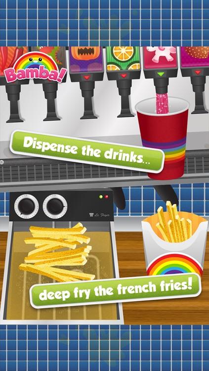 Bamba Burger - Make, Cook, Eat Hamburgers, Sodas & Fries in a Restaurant screenshot-3