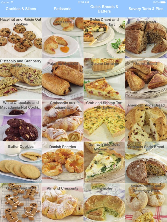 Baking - Breads & Cookies Cookbook for iPad