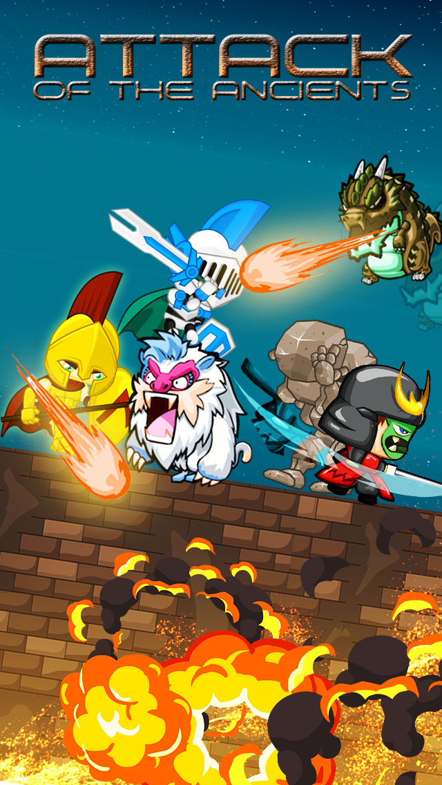Attack of the Ancients – Knights Fighting Extinct Animal BeastsScreenshot of 1