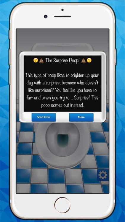 The Poo Calculator - A Funny Finger Scanner with Bathroom Humor Jokes App (FREE) screenshot-3